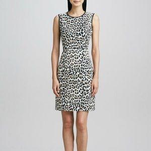 Kate Spade Paulina Leopard Sheath Dress Size 6